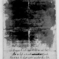 Samuel Culper Jr. to Benjamin Tallmadge, March 23, 1780 (damaged and partially illegible)